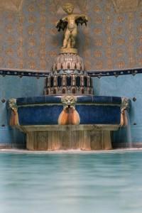 Art Nouveau Details in Gellert Bath Budapest