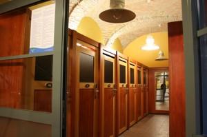 Cabins in Rudas Bath Budapest