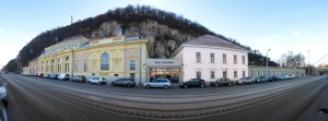 Gellert Hill with the Rudas Bath Budapest