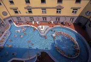 Lukacs Bath Budapest Summer