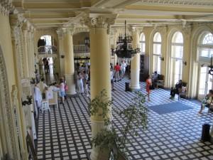 Main Hall Szechenyi Bath Budapest