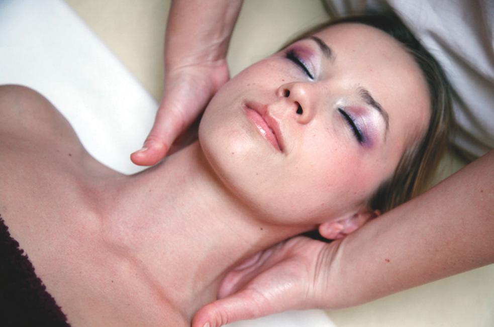 Neck Massage Szechenyi Bath Budapest