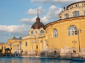 Neo Baroque Palace Szechenyi Bath Budapest Patrick Nouhailler