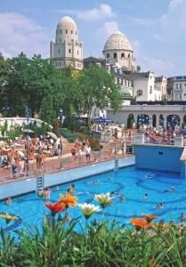 Summer in Gellert Bath